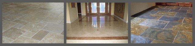 natural stone floors