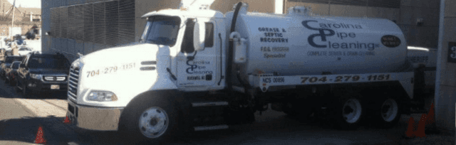 CPC septic and grease tank truck