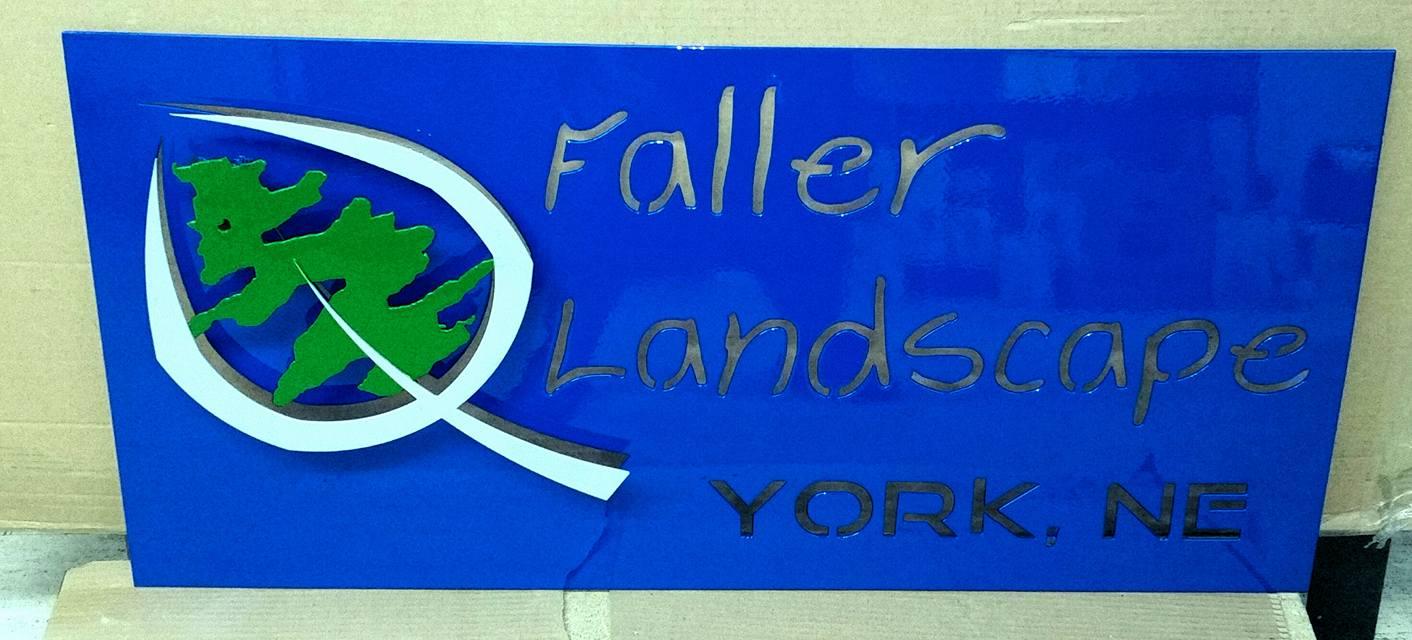 faller landscape