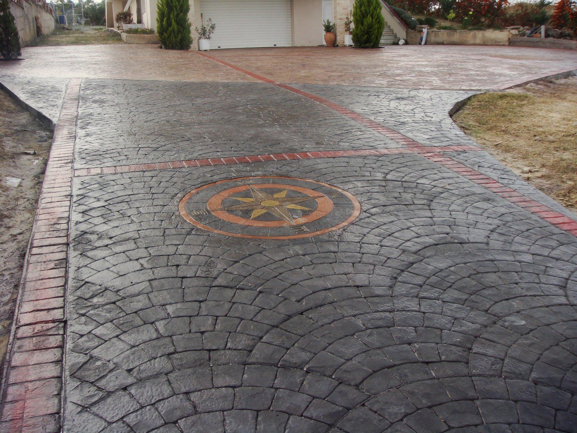 Stamped Concrete Decks
